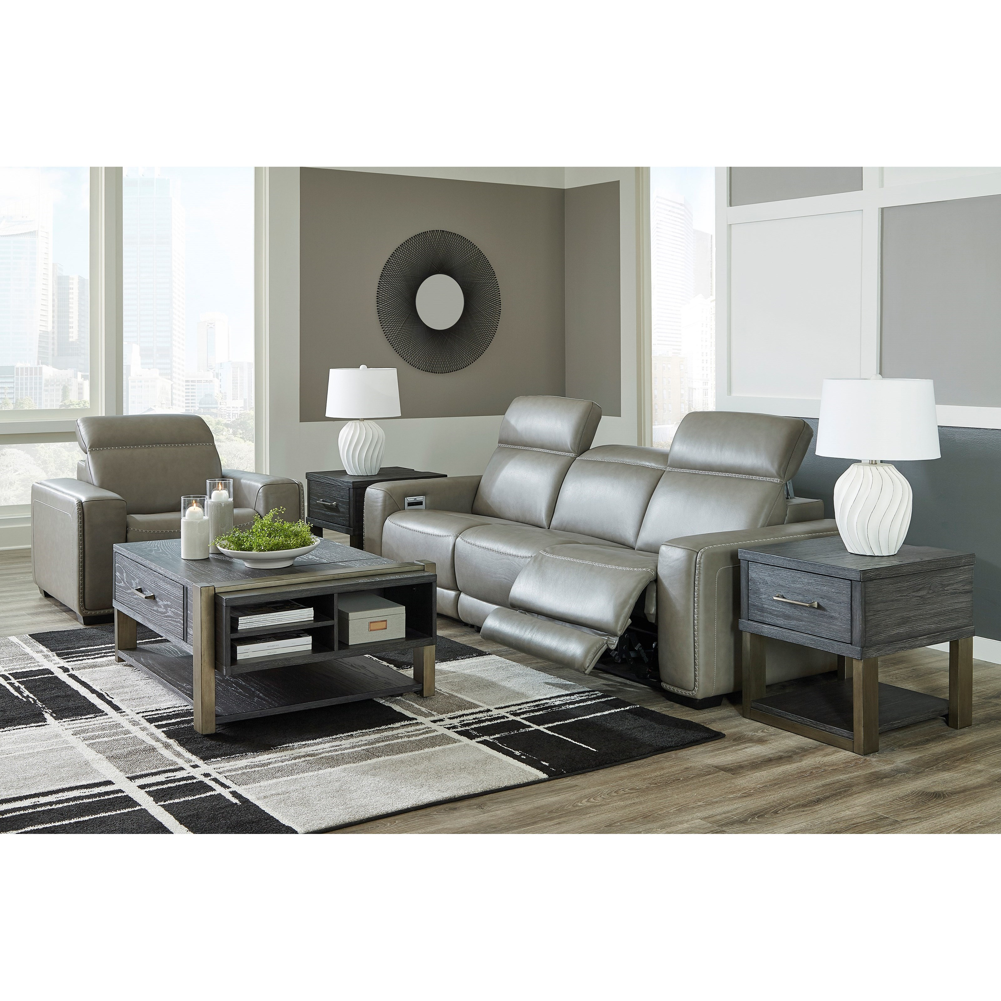 Correze Power Reclining Living Room Group by Signature Design by Ashley at Beck's Furniture