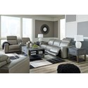 Signature Design by Ashley Correze Power Reclining Living Room Group - Item Number: U94202 Living Room Group 3