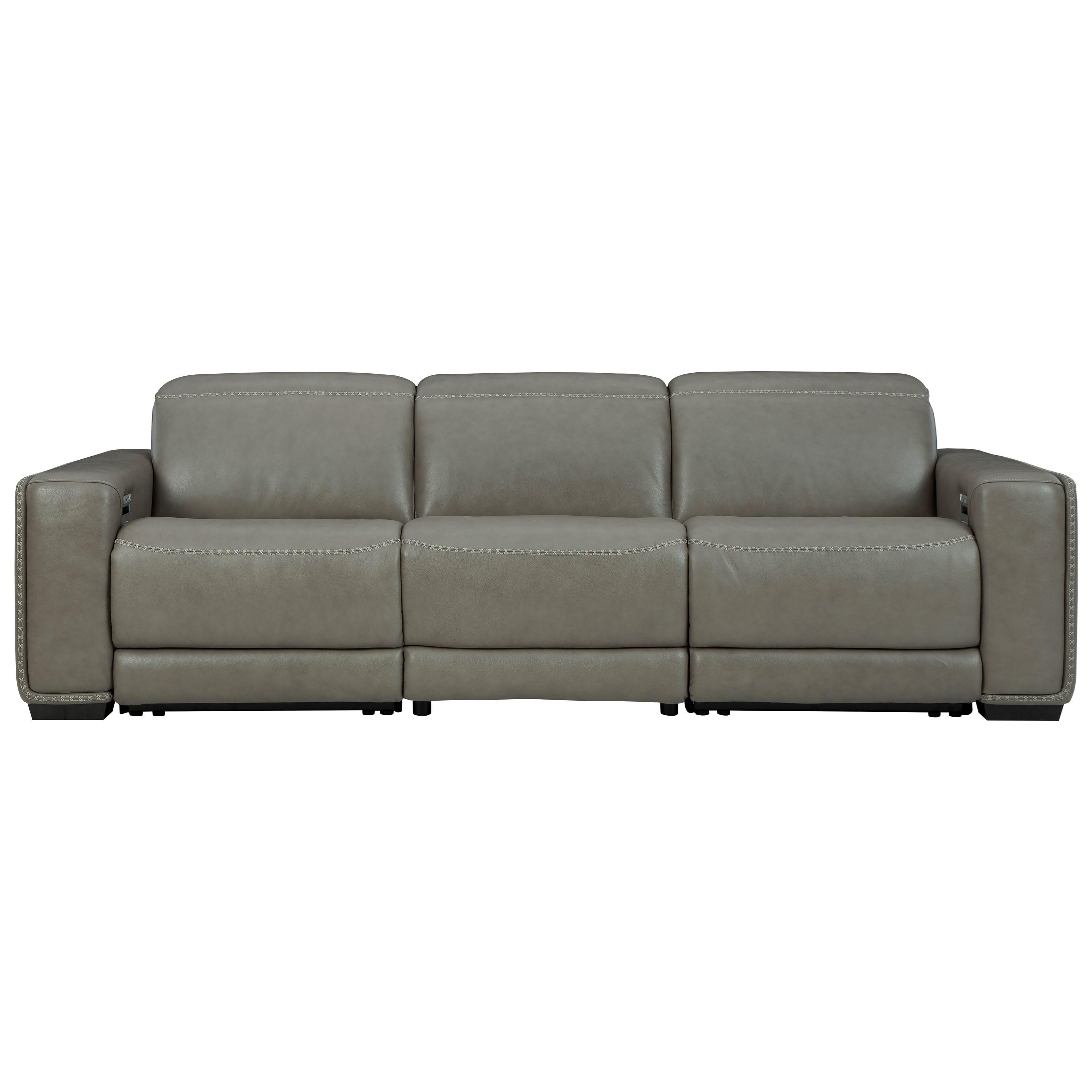 Correze Power Reclining Sofa by Ashley (Signature Design) at Johnny Janosik