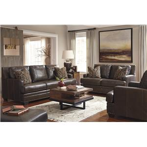 Signature Design by Ashley Corvan Stationary Living Room Group
