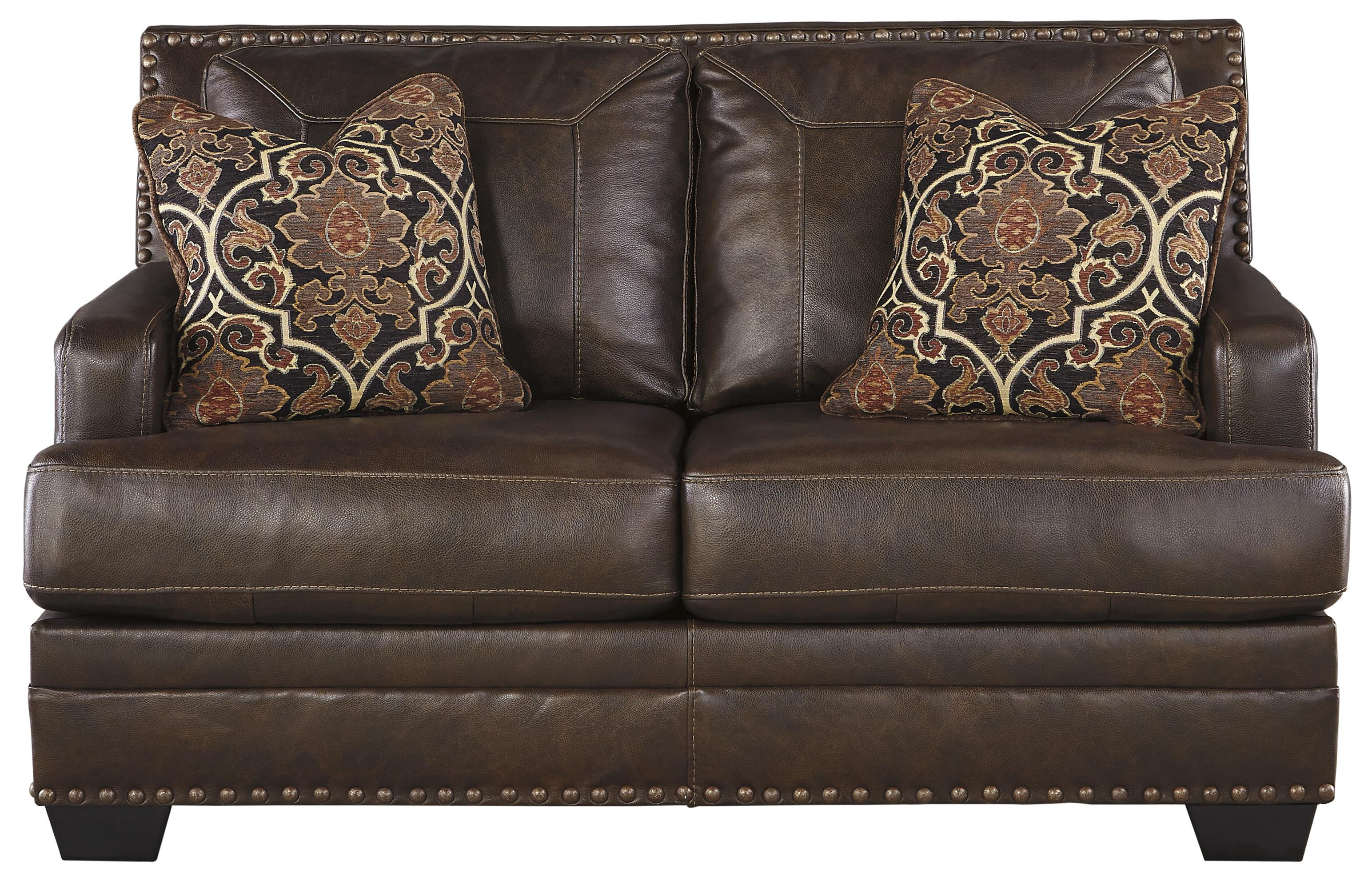 Signature Design by Ashley Corvan Loveseat - Item Number: 6910335