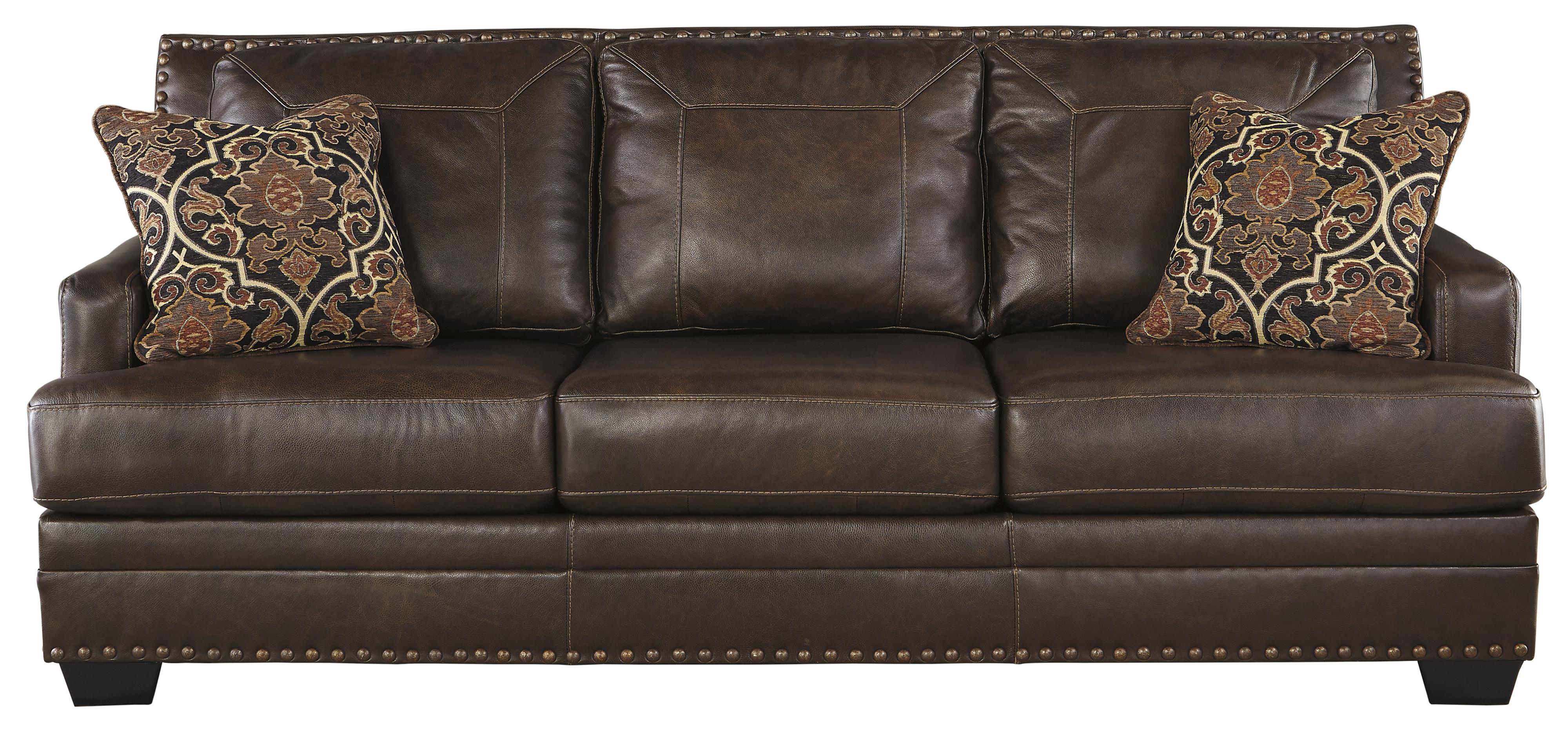 Signature Design by Ashley Corvan Queen Sofa Sleeper - Item Number: 6910339