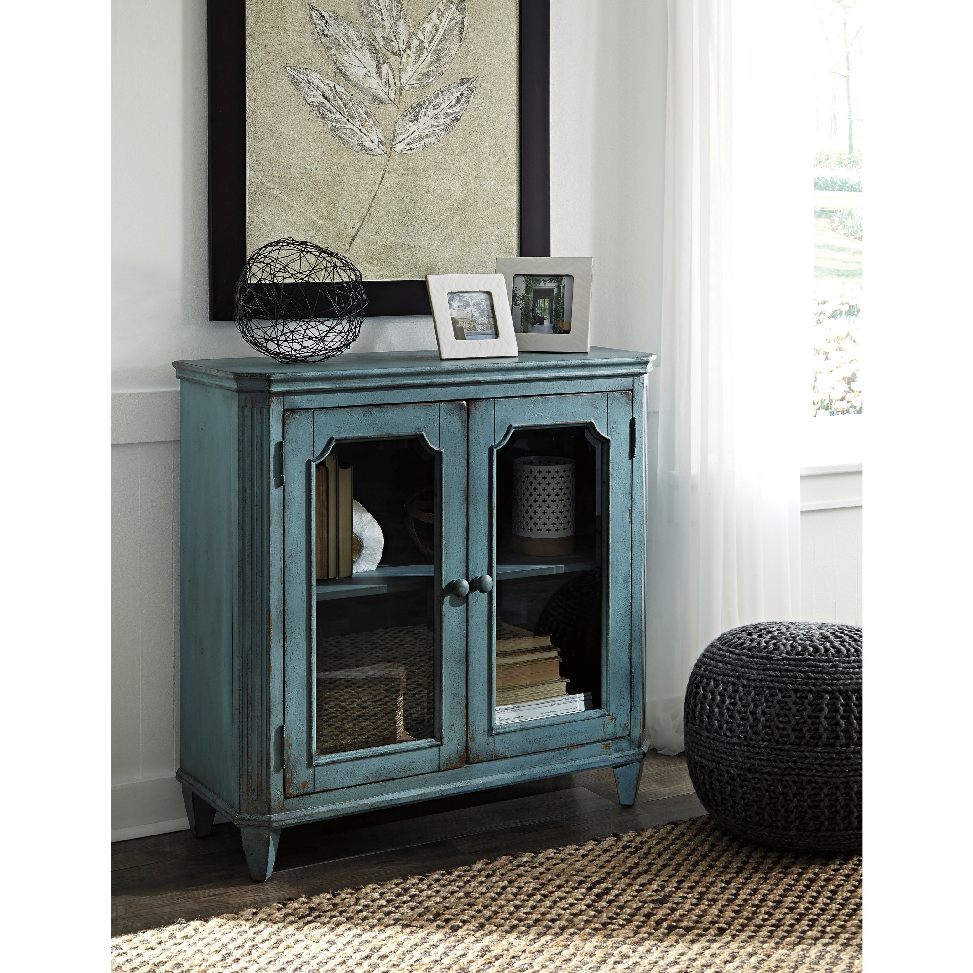 Walentin Accent Cabinet By Ashley Furniture: Ashley (Signature Design) Mirimyn French Provincial Style