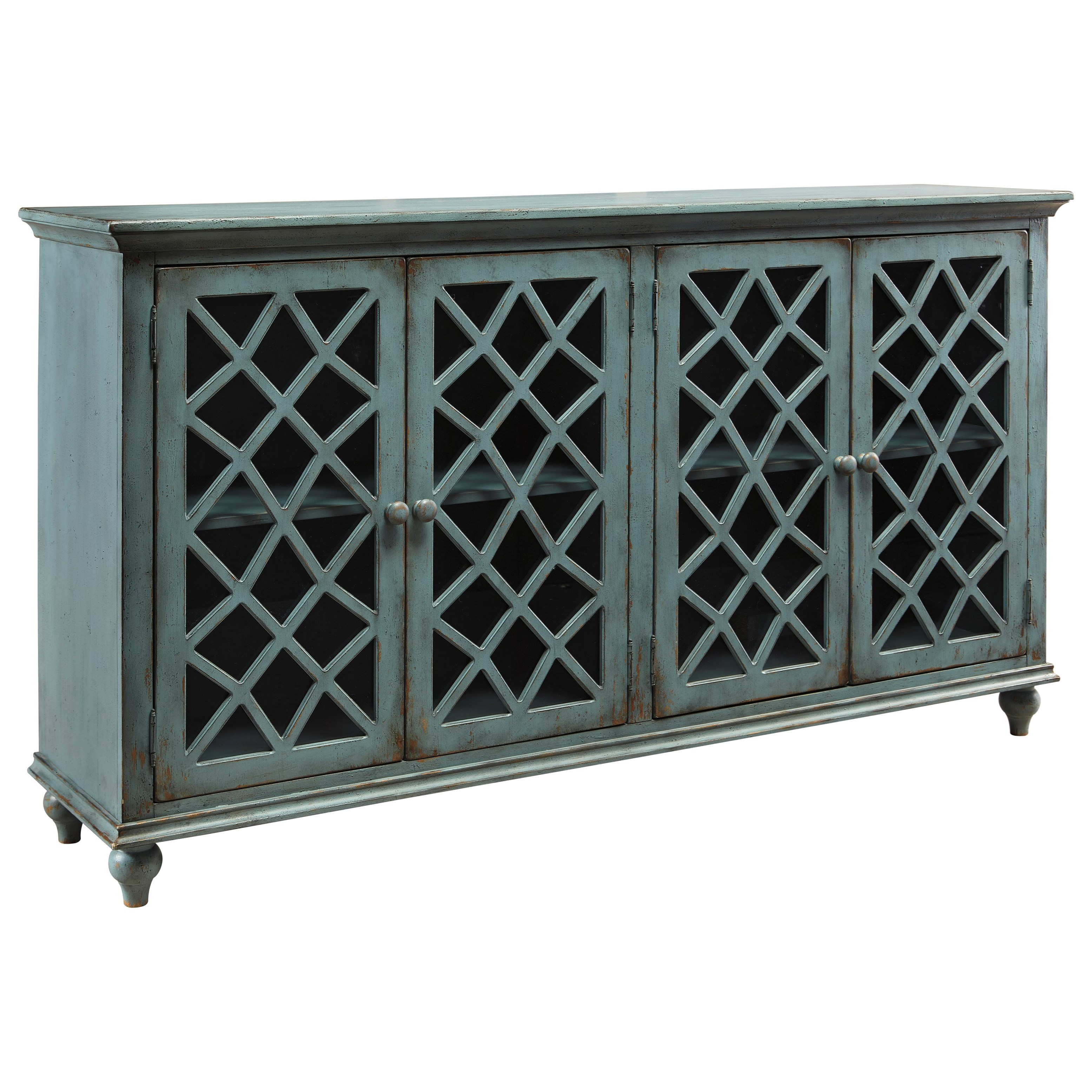 Signature Design by Ashley Mirimyn Door Accent Cabinet - Item Number: T505-762