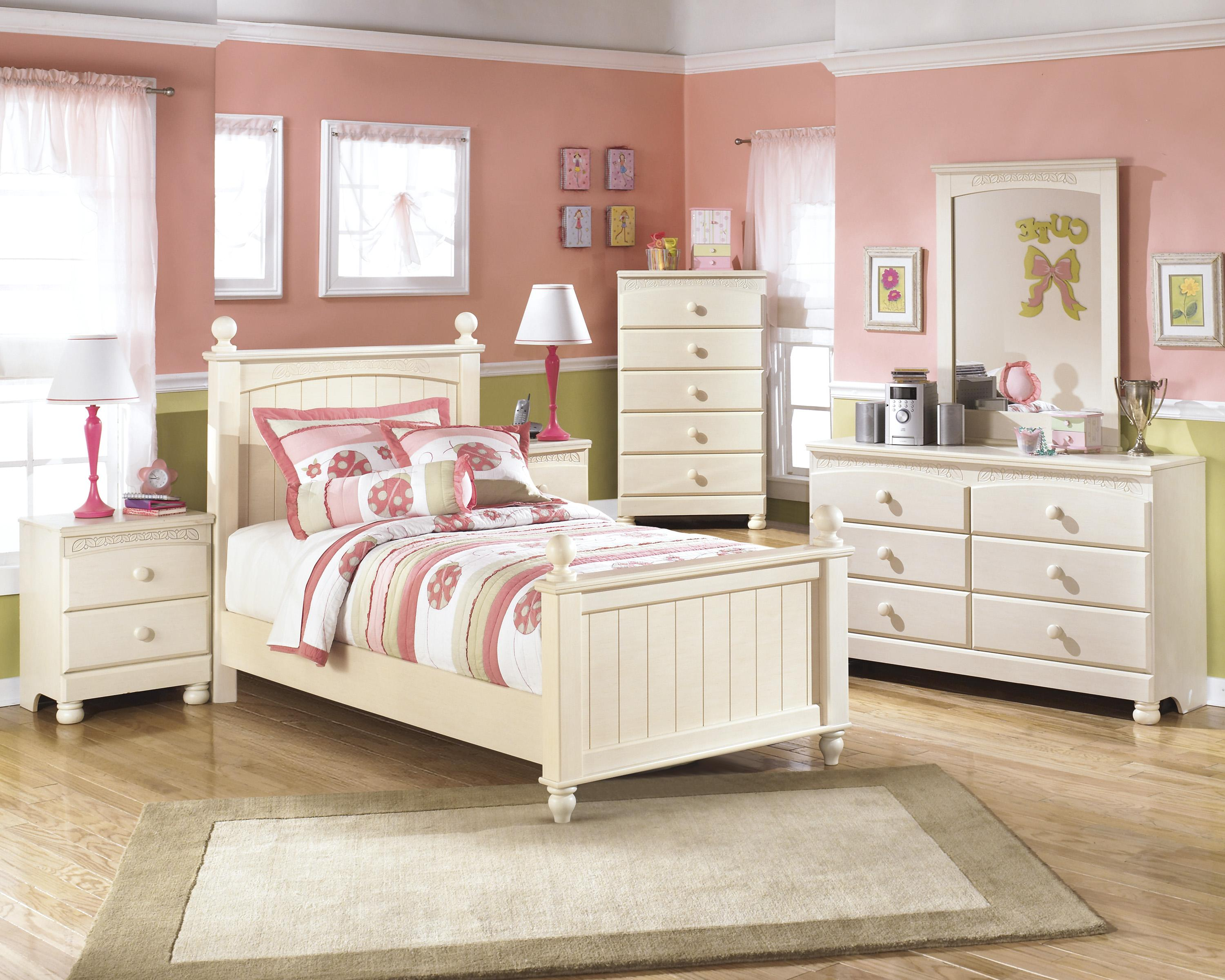 Signature Design by Ashley Cottage Retreat Twin Bedroom Group - Item Number: B213 T Bedroom Group 4
