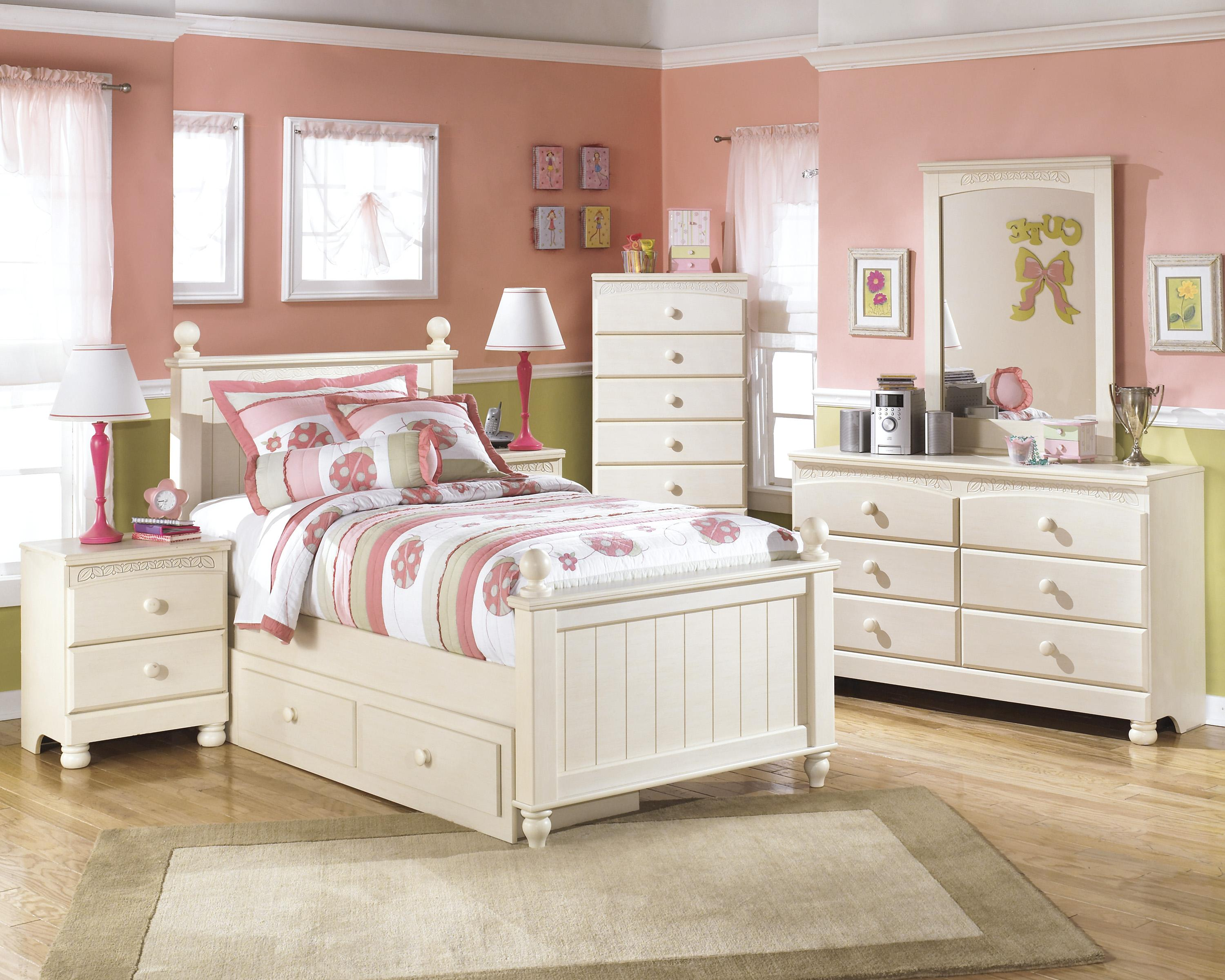 Signature Design by Ashley Cottage Retreat Twin Bedroom Group - Item Number: B213 T Bedroom Group 6