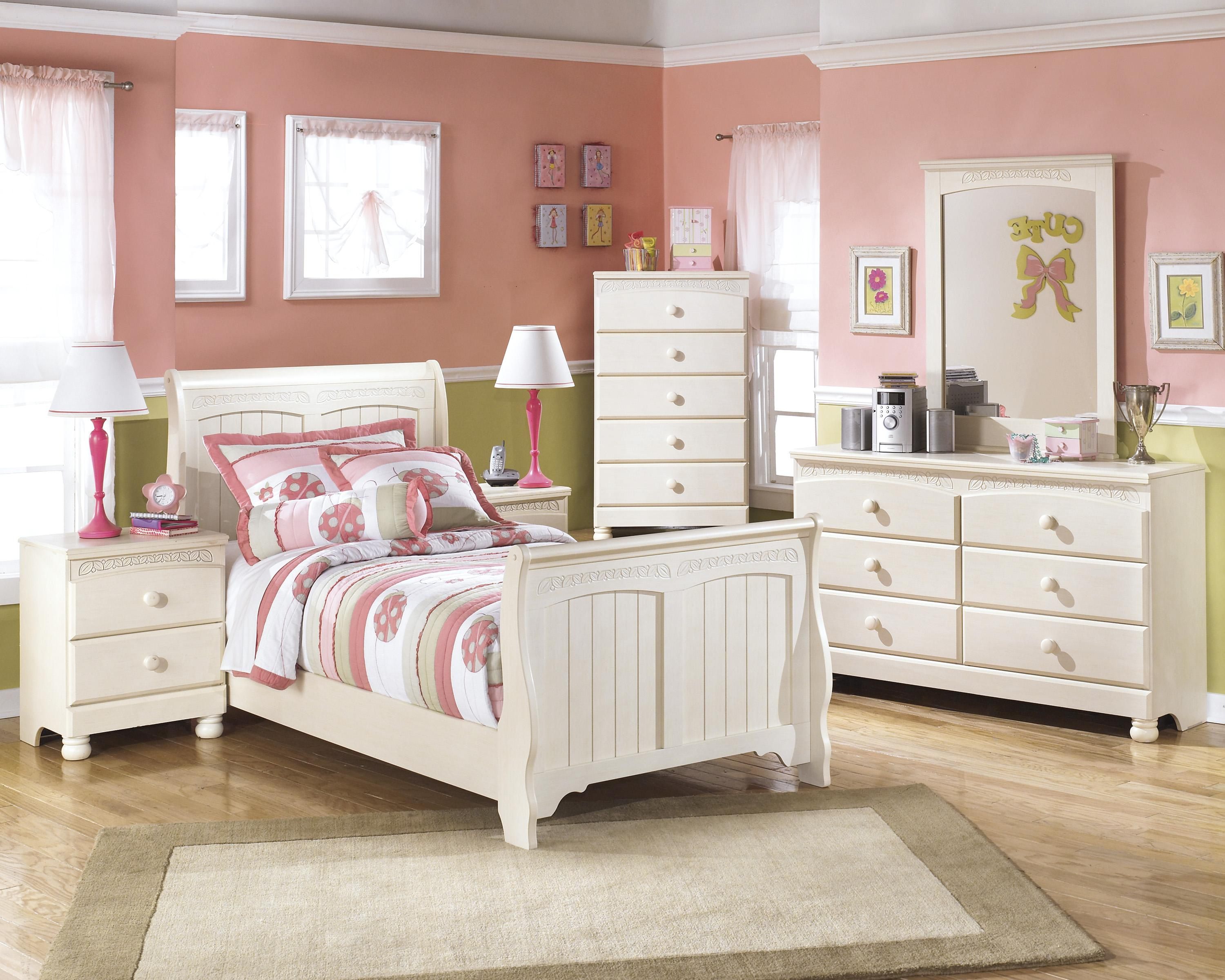Signature Design by Ashley Cottage Retreat Twin Bedroom Group - Item Number: B213 T Bedroom Group 7
