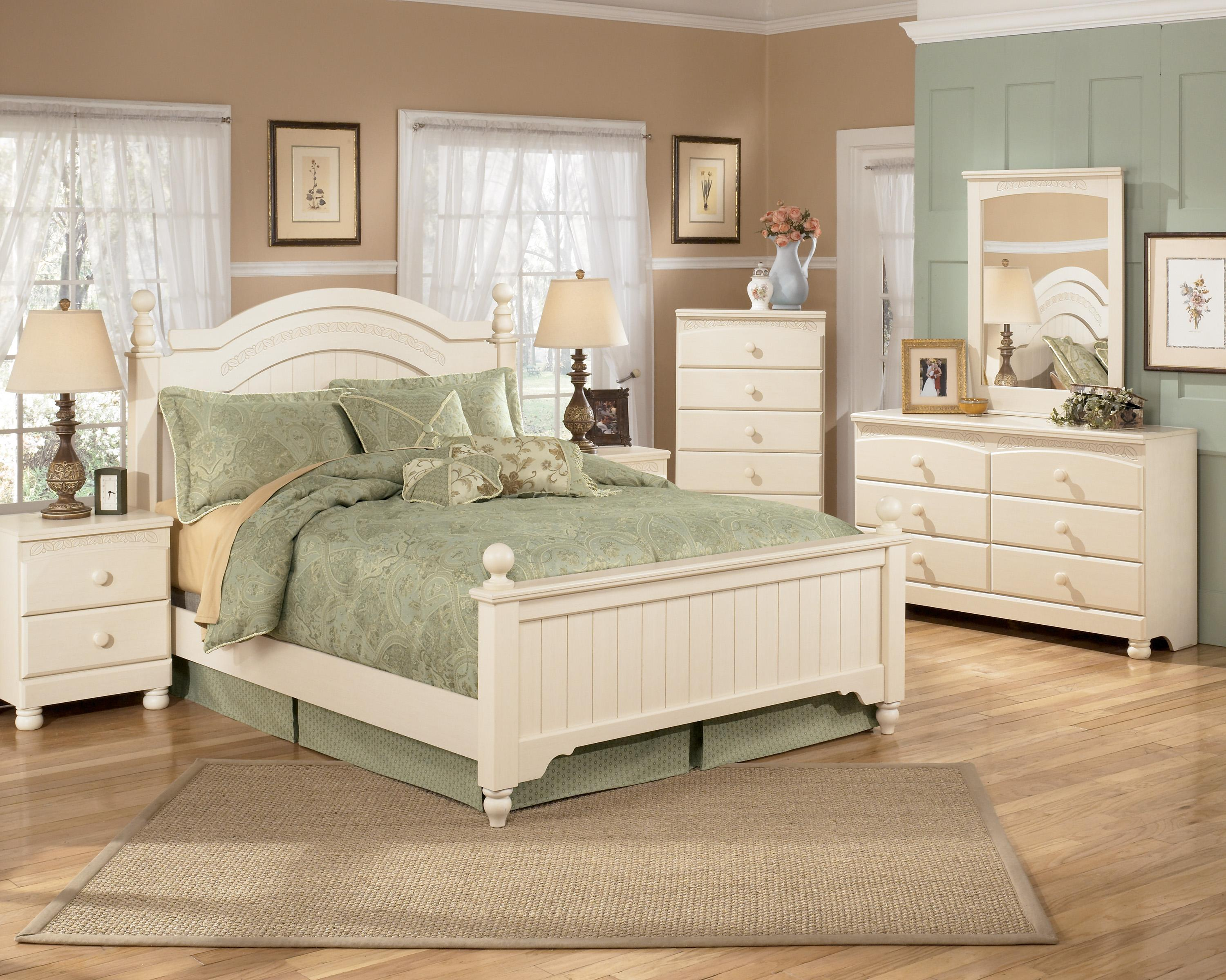 cottage retreat bedroom set signature design by cottage retreat size 15027