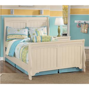 Signature Design by Ashley Furniture Cottage Retreat Full Sleigh Bed