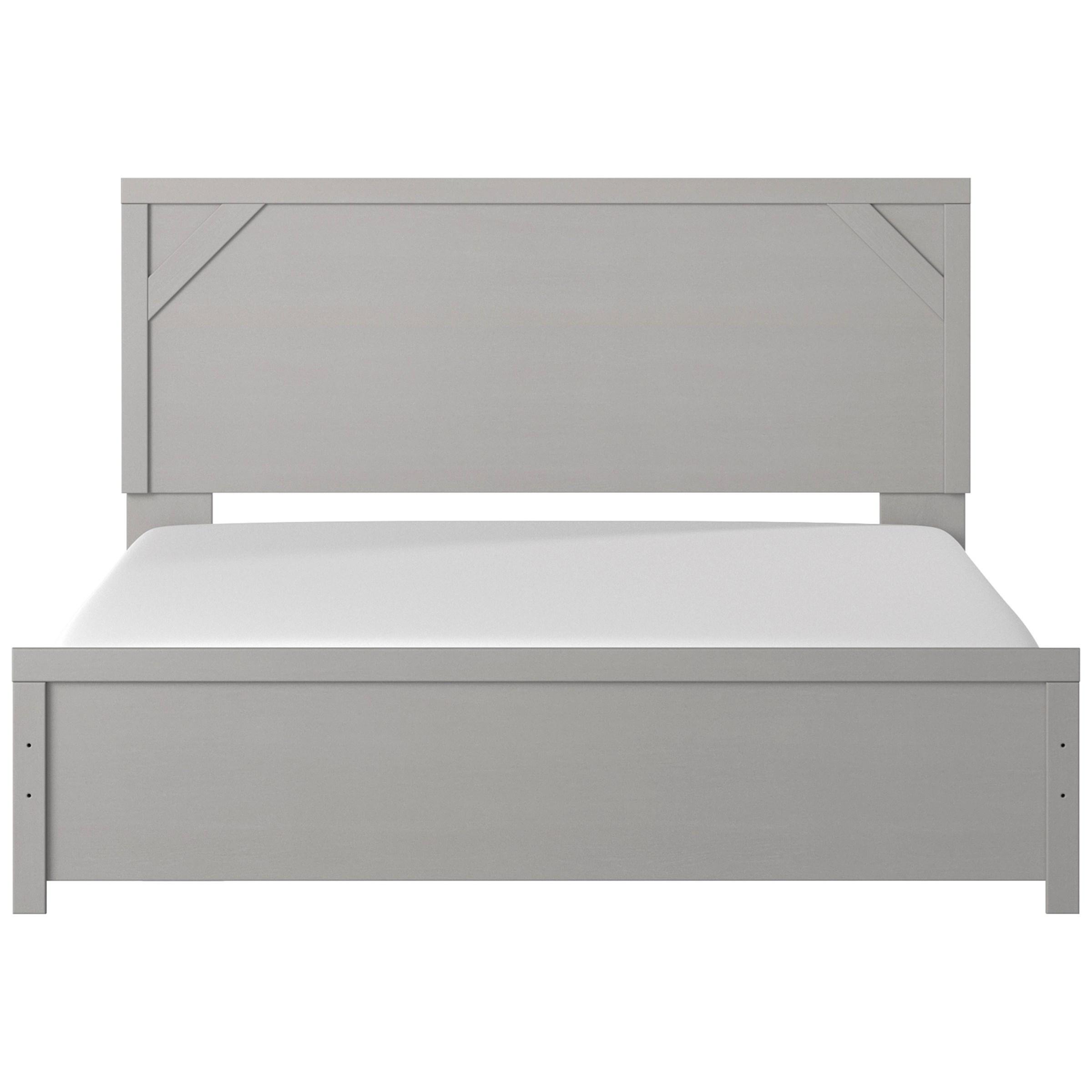 Cottenburg King Panel Bed by Ashley (Signature Design) at Johnny Janosik