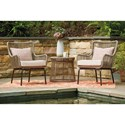Signature Design by Ashley Cotton Road 3-Piece Chair and Table Set - Item Number: P308-050