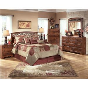 Signature Design by Ashley Timberline 4PC Queen Bedroom