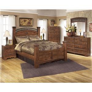 Signature Design by Ashley Timberline Queen Bedroom Group Set