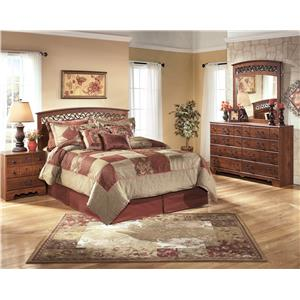 Ashley (Signature Design) Timberline Queen/Full Bedroom Group