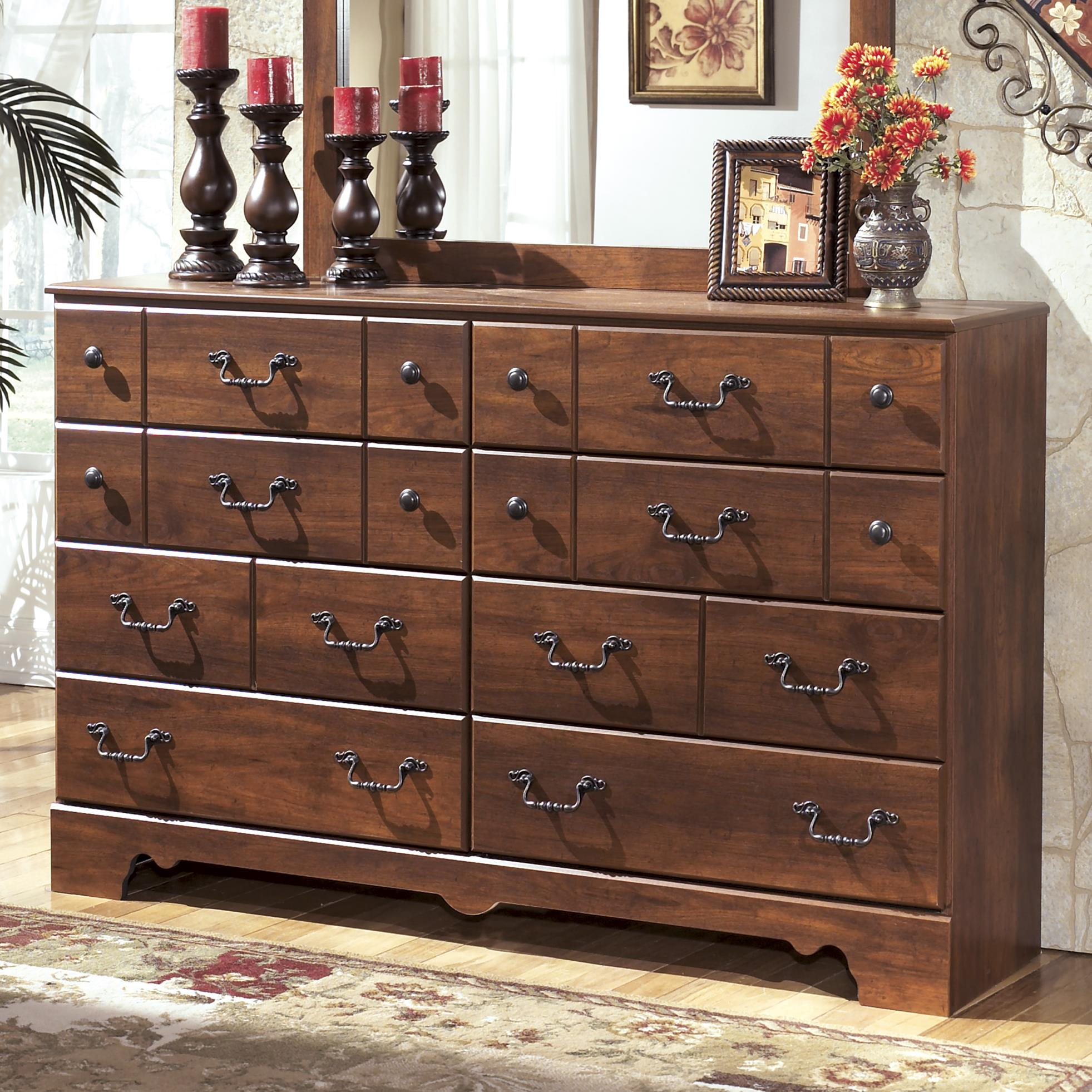 Signature Design by Ashley Timberline 8 Drawer Dresser - Item Number: B258-31