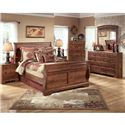 Signature Design by Ashley Timberline Queen Group 6 - Item Number: WMS1-6857