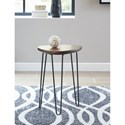 Signature Design by Ashley Courager Chair Side End Table with Hairpin Legs