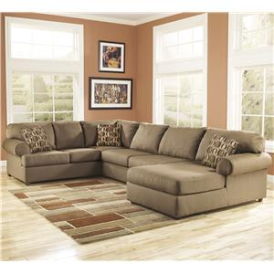 Signature Design by Ashley Cowan - Mocha RAF Corner Sectional