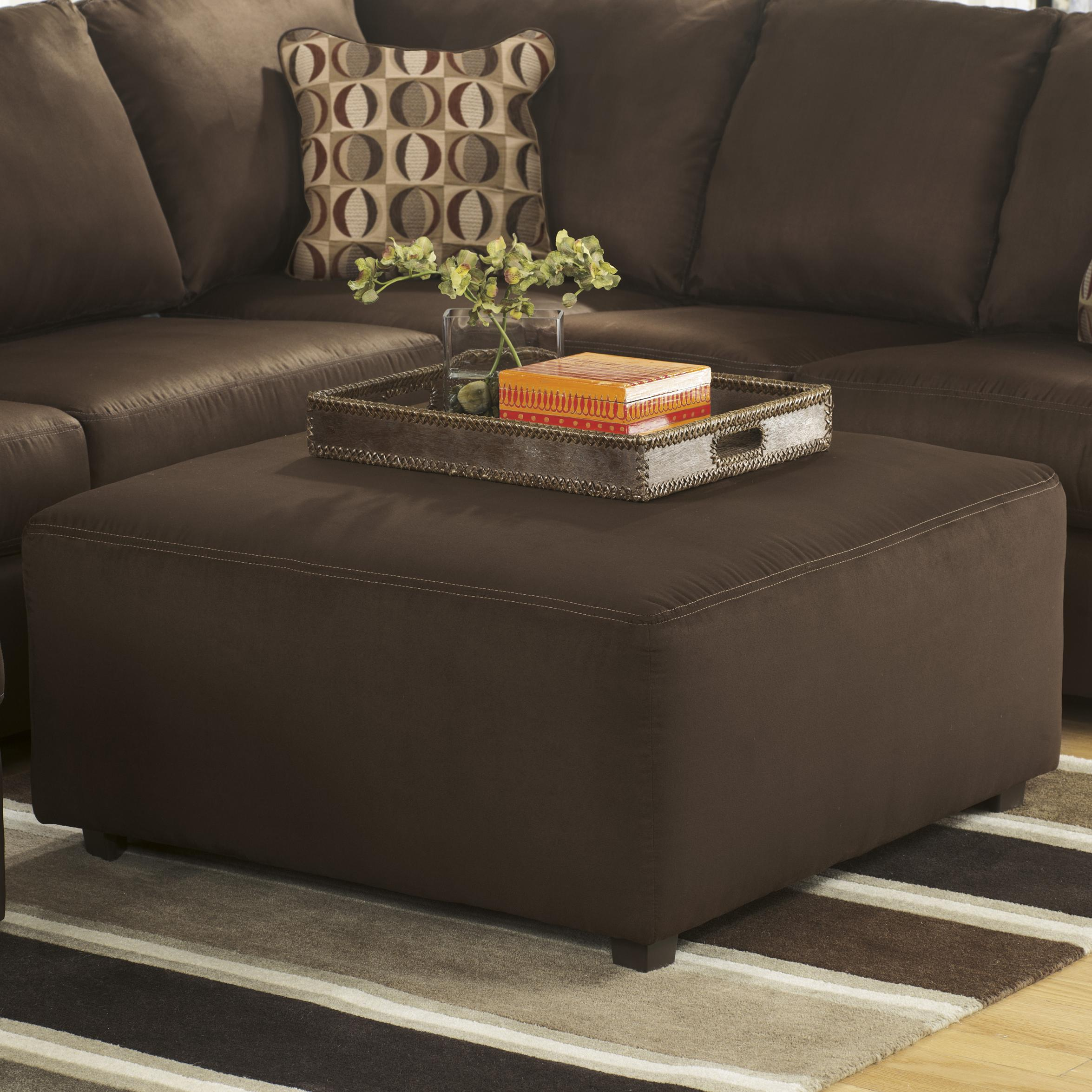 Signature Design by Ashley Cowan - Cafe Oversized Accent Ottoman - Item Number: 3070408