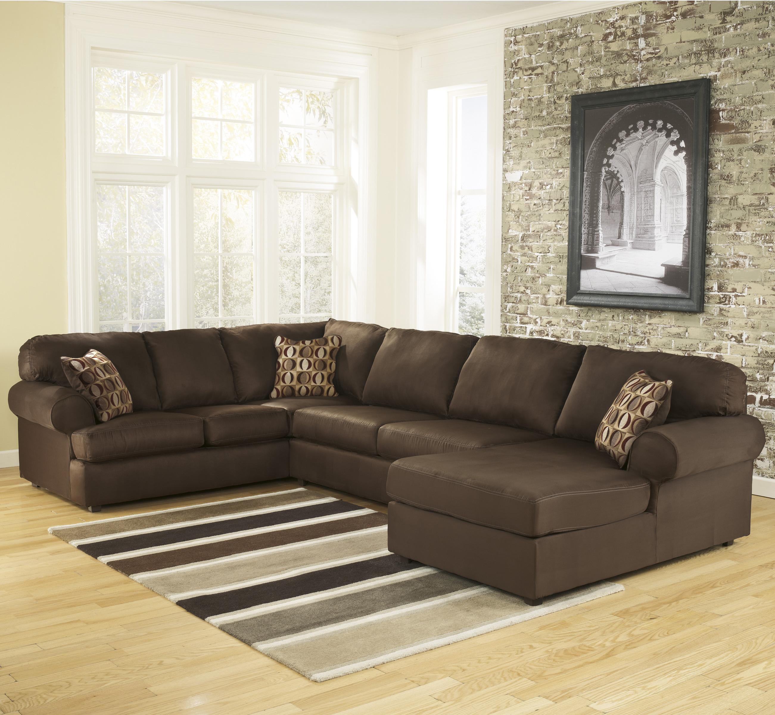 Signature Design by Ashley Cowan - Cafe RAF Corner Sectional - Item Number: 3070417+34+66
