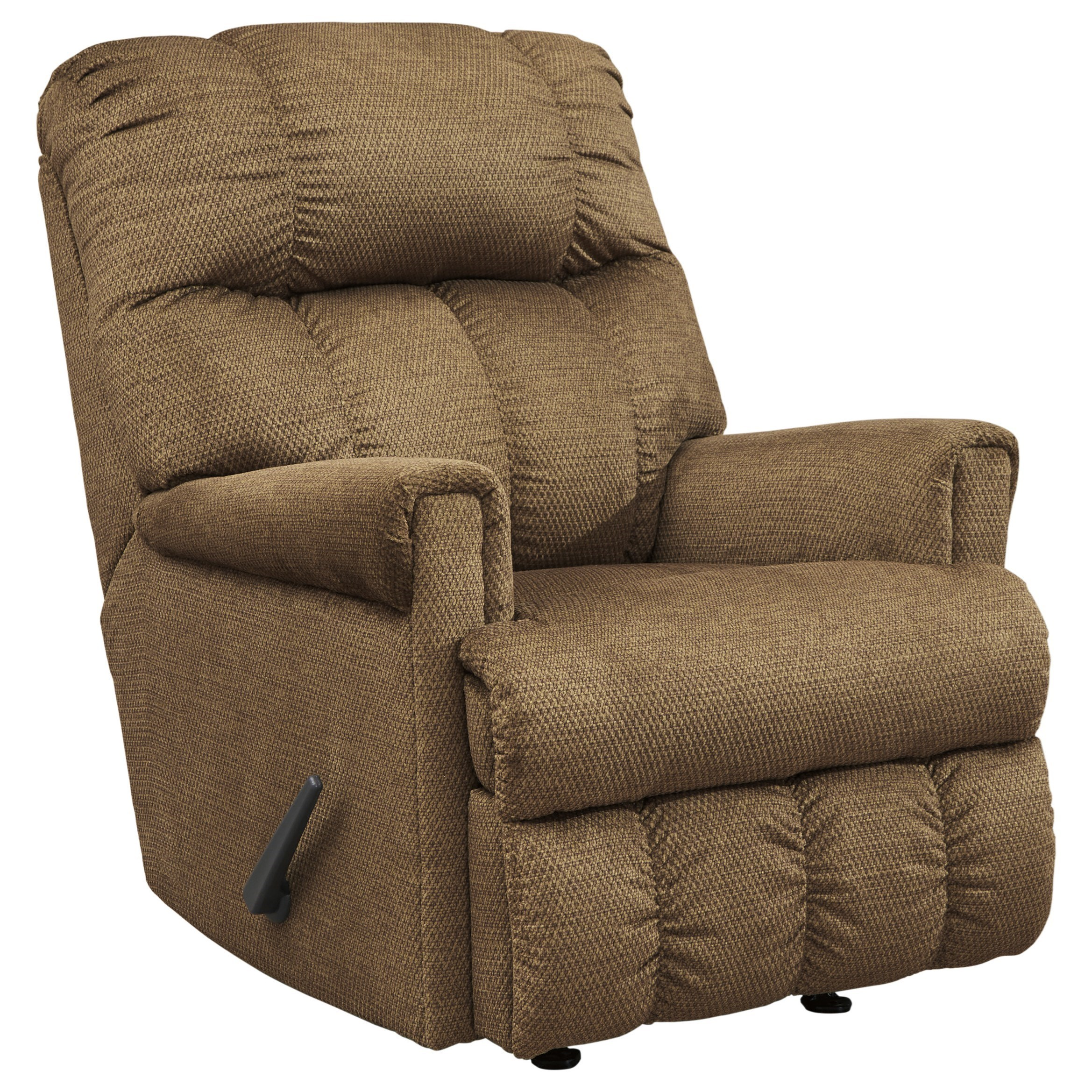 Signature Design by Ashley Craggly Rocker Recliner - Item Number: 3680325