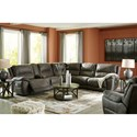 Signature Design by Ashley Cranedall Power Reclining Living Room Group - Item Number: 51403 Living Room Group 2