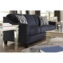 Benchcraft Creeal Heights Sofa with Nailhead Studs