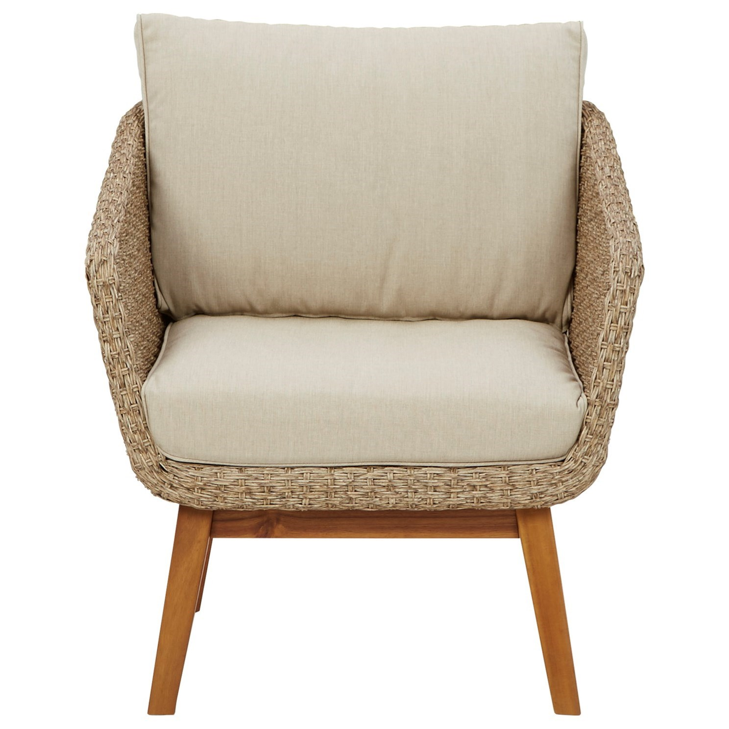 Crystal Cave Lounge Chair w/ Cushion by Signature at Walker's Furniture