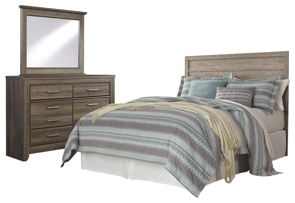 Culverbach Queen Bedroom Set, Dresser and Mirror by Ashley (Signature Design) at Johnny Janosik