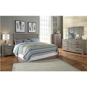 Signature Design by Ashley Culverbach 4 Piece Queen Bedroom Set