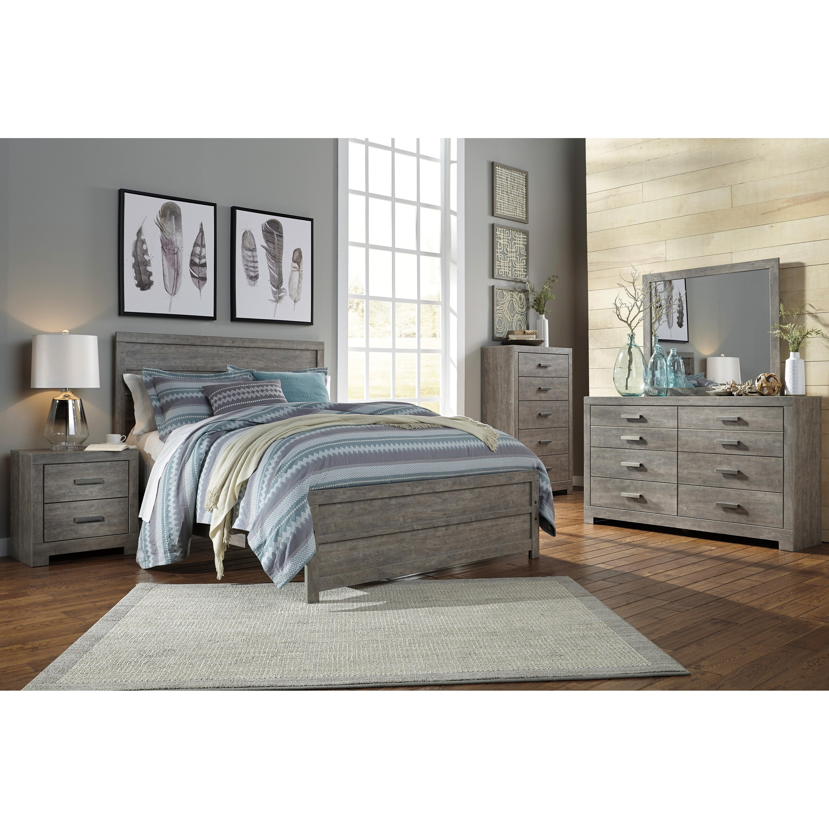 Signature Design By Ashley Culverbach Queen Bedroom Group Value City Furniture Bedroom Groups