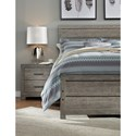 Signature Design by Ashley Culverbach Contemporary King Bed with Low-Profile Footboard - Bed Shown May Not Be Size Indicated
