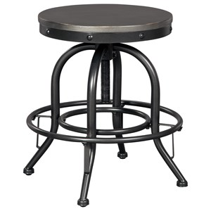 Signature Design by Ashley Minnona Swivel Bar Stool