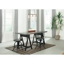 Signature Design by Ashley Minnona Adjustable Height Swivel Bar Stool
