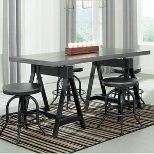Benchcraft Minnona 5 Piece Dining Set