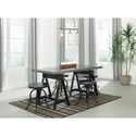 Signature Design by Ashley Minnona Adjustable Rectangular Dining Room Table