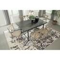 Signature Design by Ashley Minnona 7 Piece Rectangular Dining Set w/ Antique White Chairs