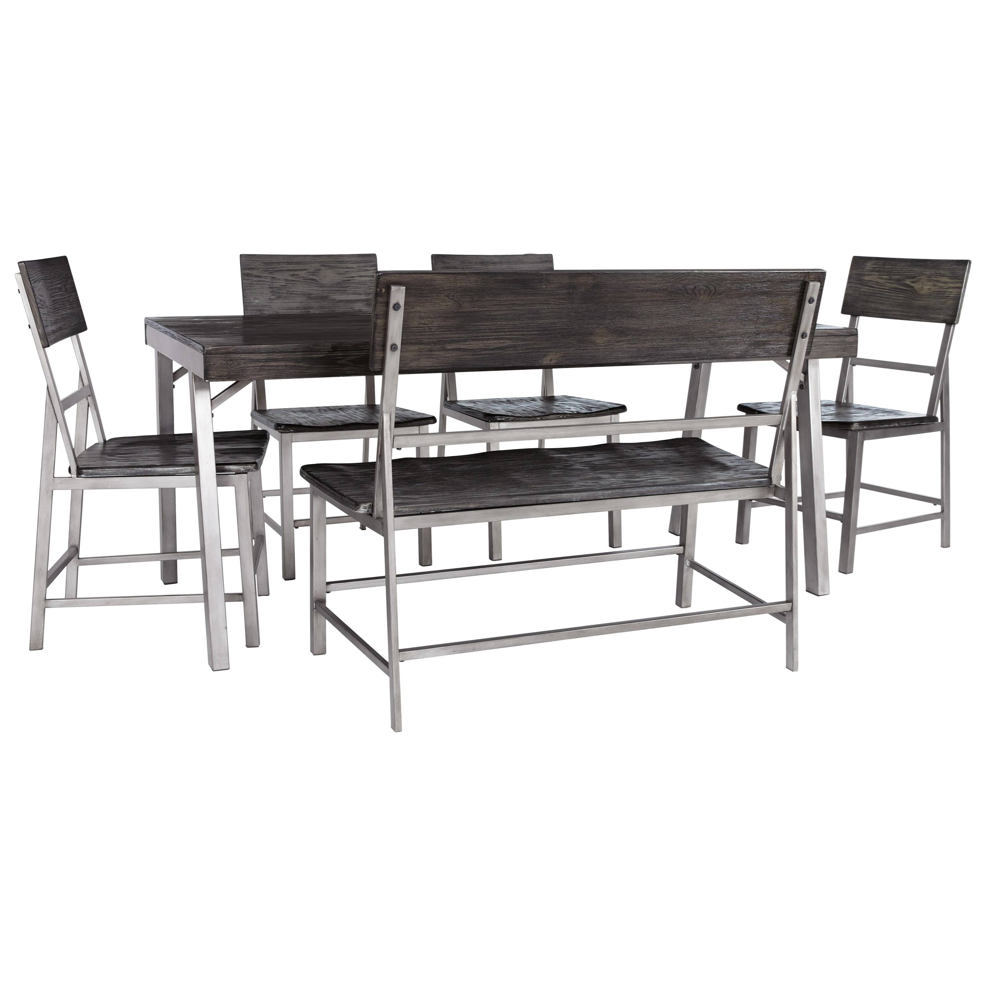Signature Design By Ashley Raventown Dining Set With
