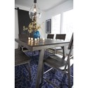Signature Design by Ashley Raventown 7 Pc Casual Dining Set with Metal Base