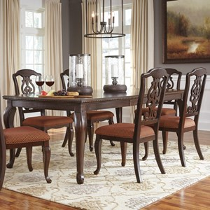 Signature Design by Ashley Gladdenville 5-Piece Table & Chair Set