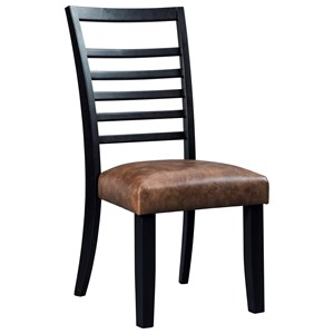 Signature Design by Ashley Manishore Dining Upholstered Side Chair