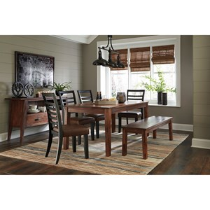 Signature Design by Ashley Manishore Casual Dining Room Group