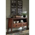 Signature Design by Ashley Manishore Rustic Solid Wood Dining Room Server