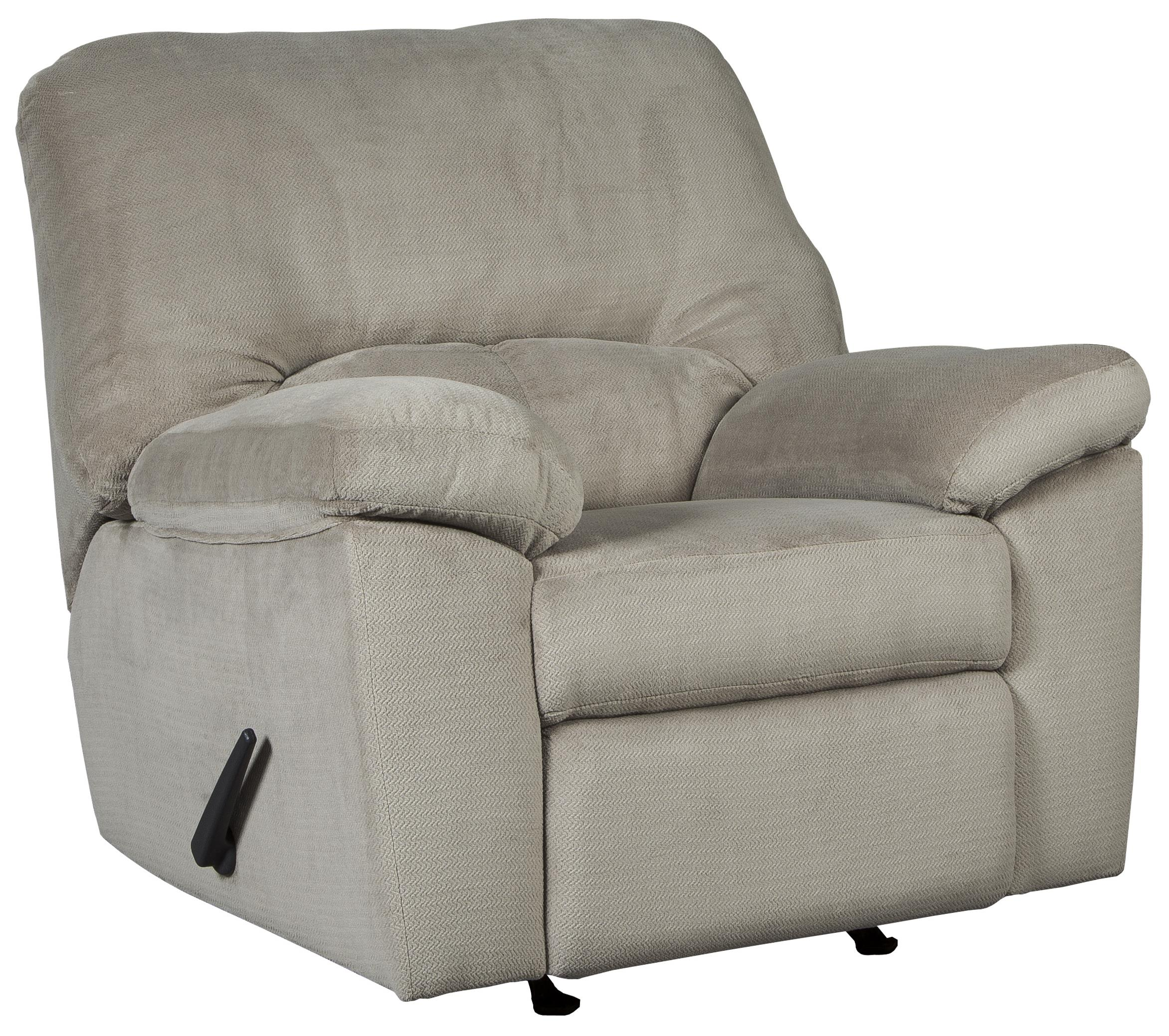 Signature Design by Ashley Dailey Rocker Recliner - Item Number: 9540125