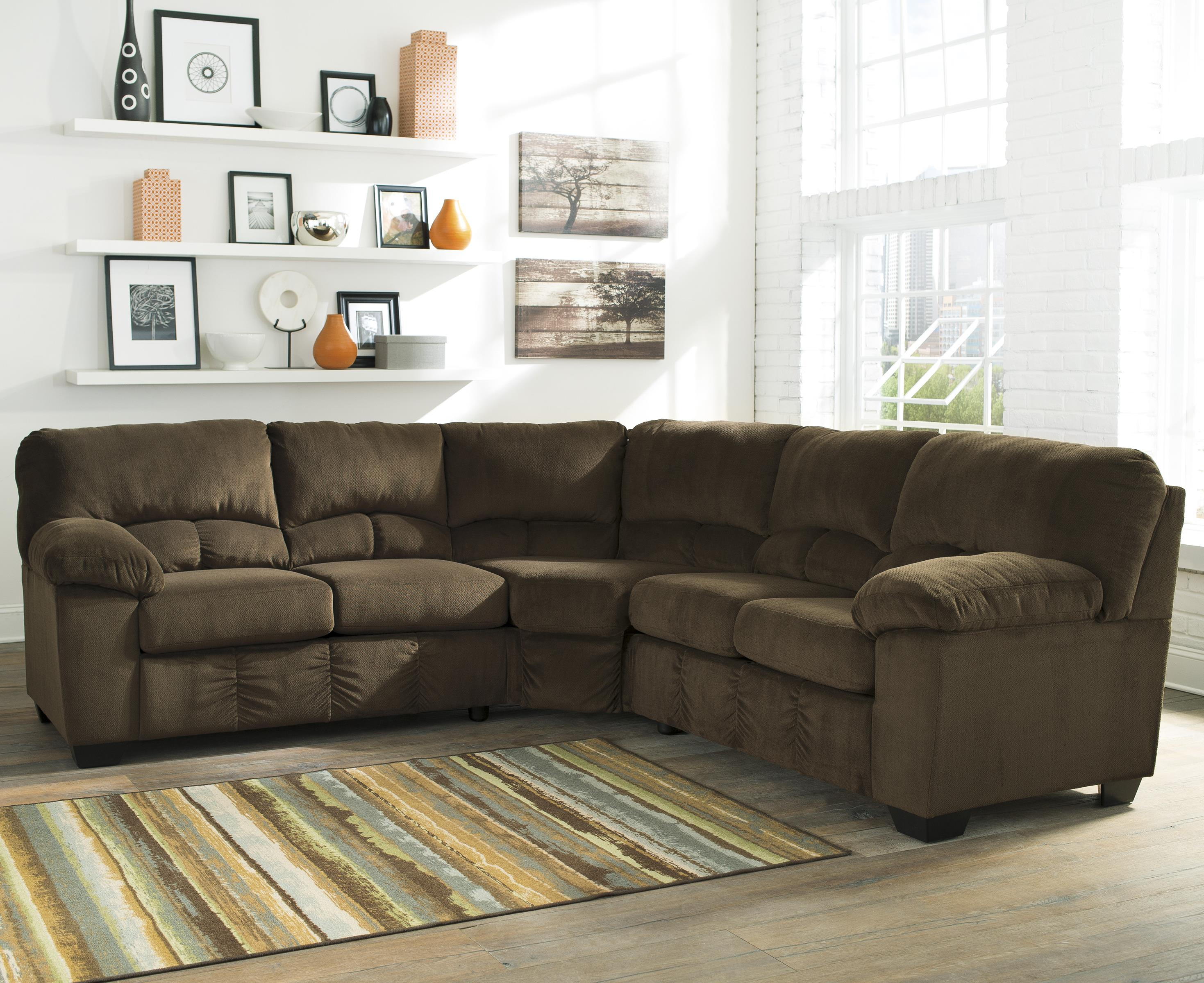 Signature Design by Ashley Dailey Sectional - Item Number: 9540355+56