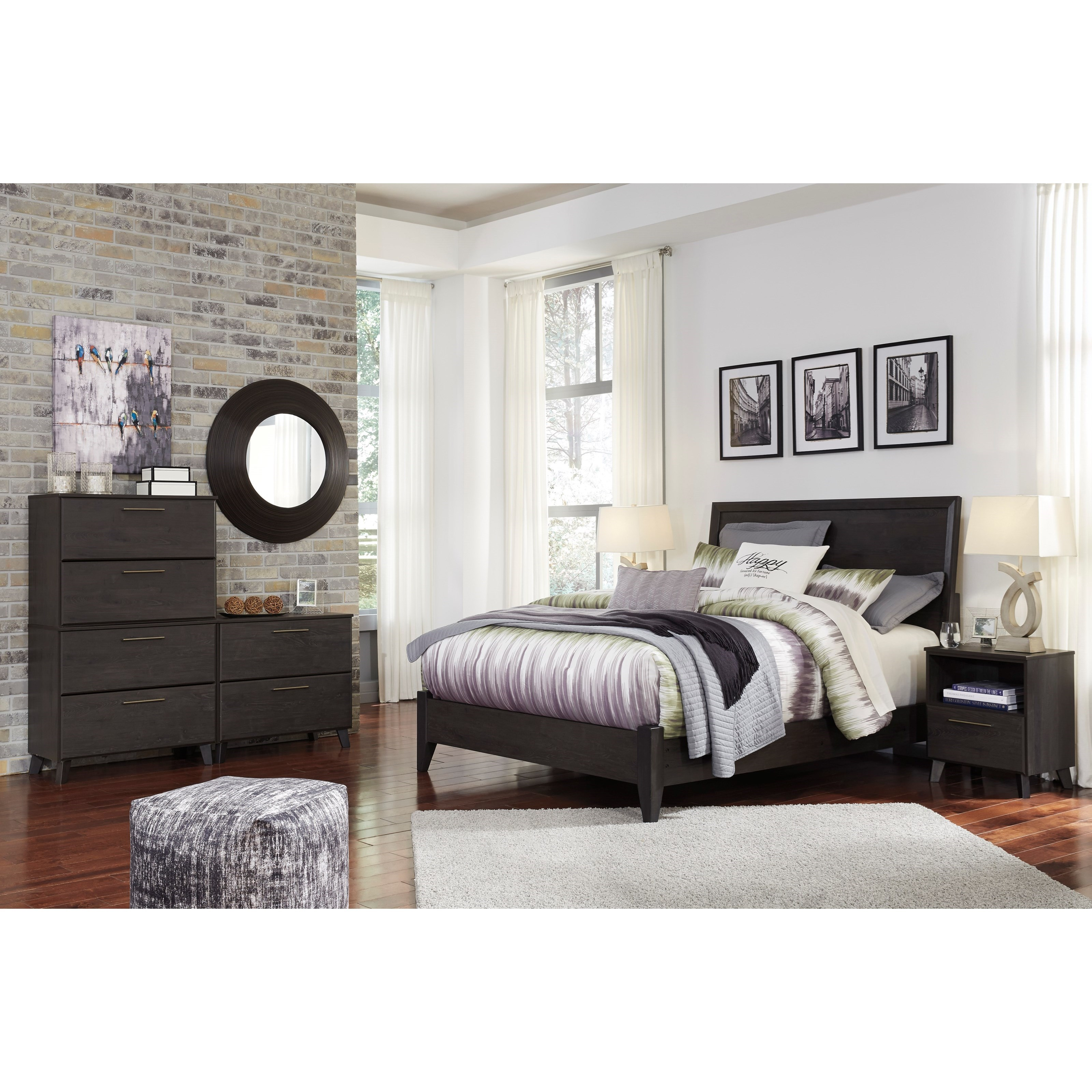 Signature Design by Ashley Daltori Queen Bedroom Group - Item Number: B273 Q  Bedroom Group