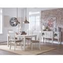 Signature Design by Ashley Danbeck Formal Dining Room Group - Item Number: D603 Dining Room Group 1