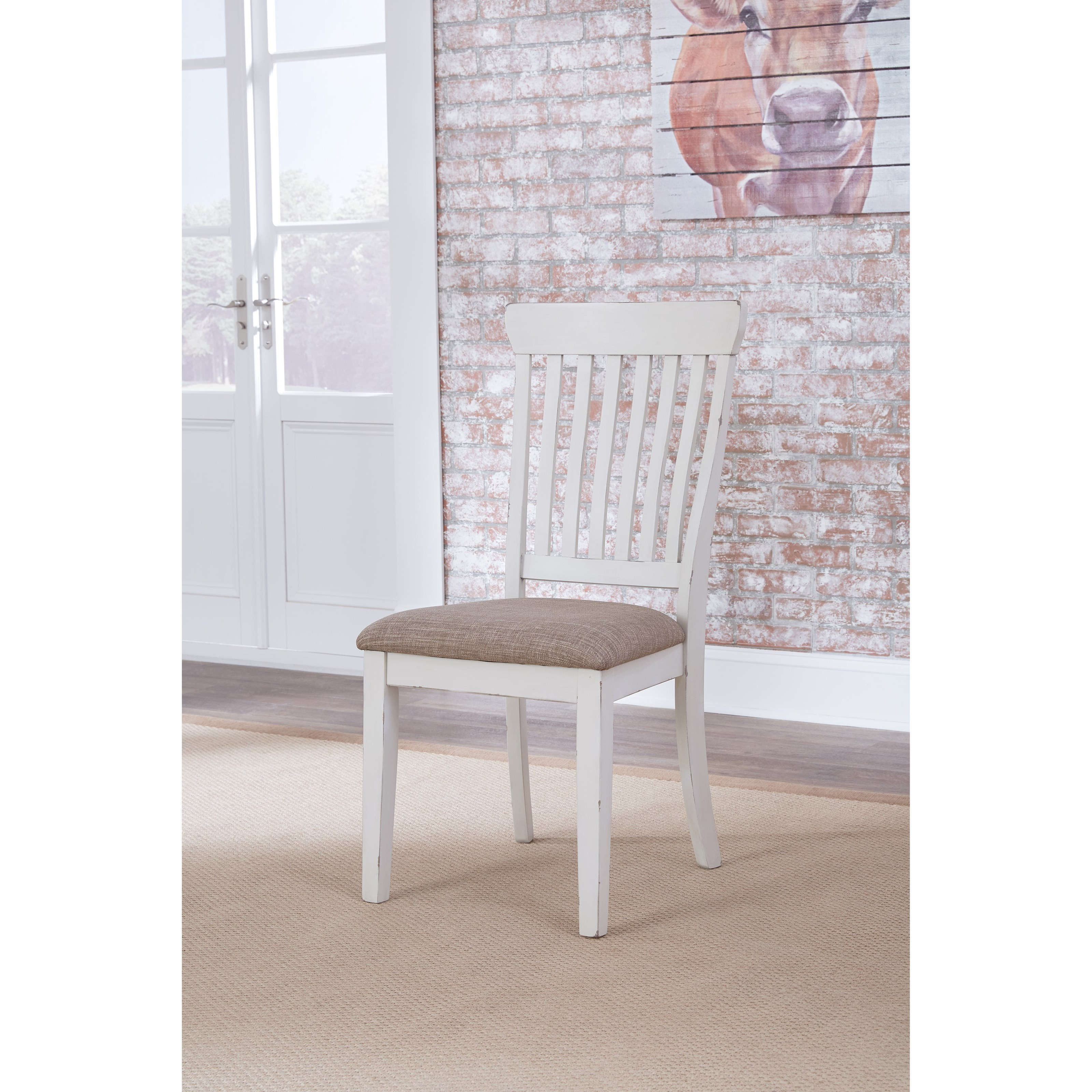 Danbeck Dining Chair: Ashley Signature Design Danbeck D603-01 Dining Upholstered