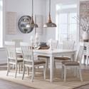 Signature Design by Ashley Danbeck 7 Piece Rectangular Table Set
