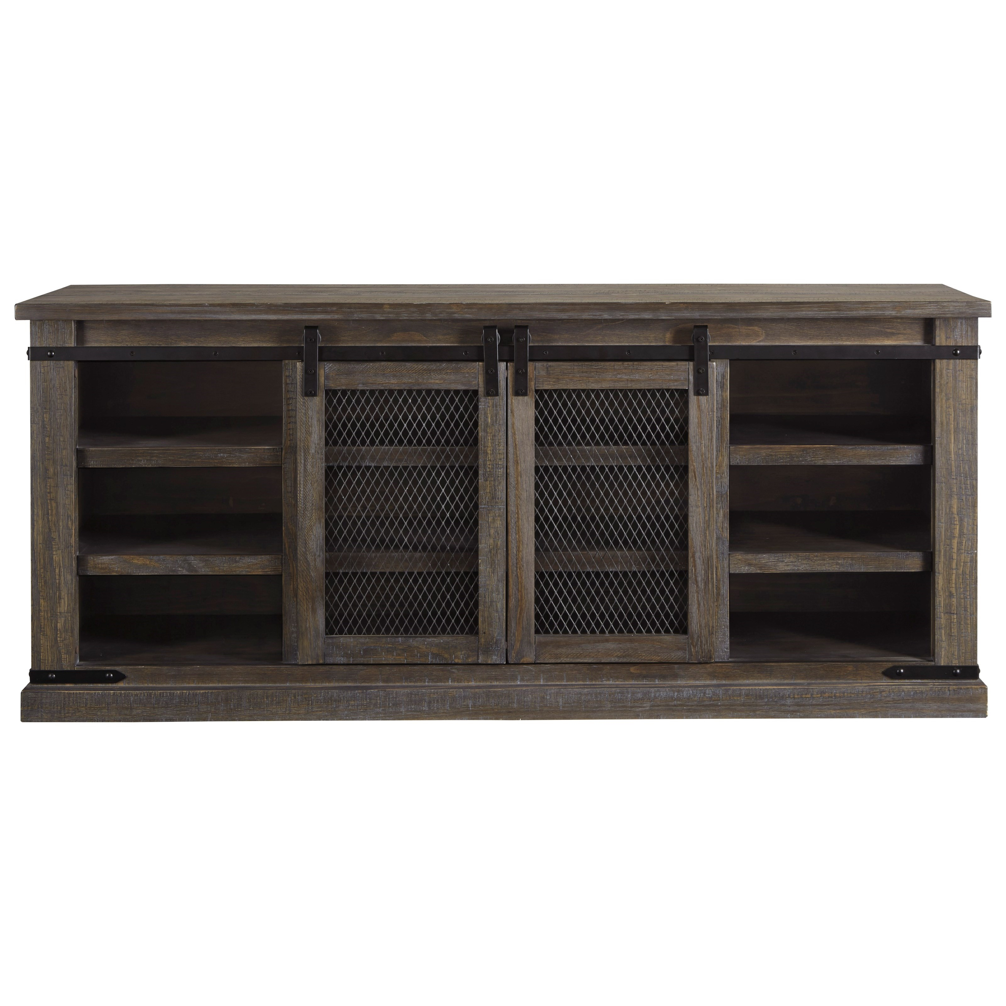 Signature Design By Ashley Danell Ridge 70 Rustic Tv Stand With